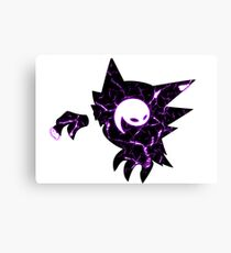 Pokemon Haunter ghost fracture Canvas Print