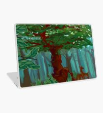 Bark and Deer Laptop Skin