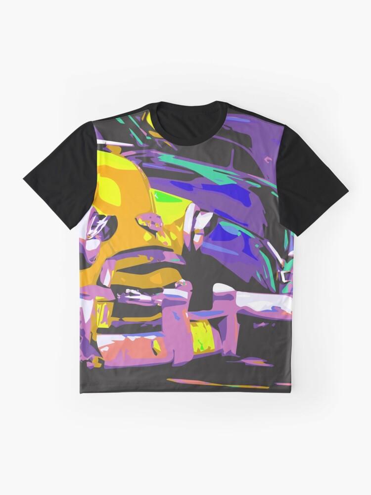 Vista alternativa de Camiseta gráfica Coche clásico