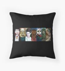 Monster Squad Throw Pillow