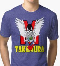 Hajime  No Ippo - Takamura Tri-blend T-Shirt