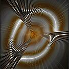 Spinning Space Tunnel by Deborah  Benoit