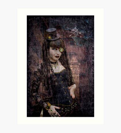 SteamPunkGoth Art Print
