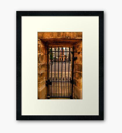 Inside Out - Hyde Park Barracks, Sydney - The HDR Experience Framed Print