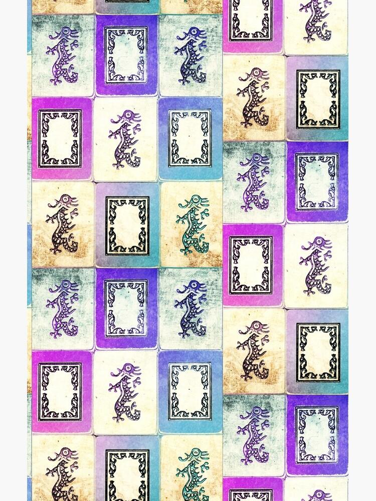 """Dragon Lady"" Mah Jongg - Version zwei von G7Susan9Werby3"