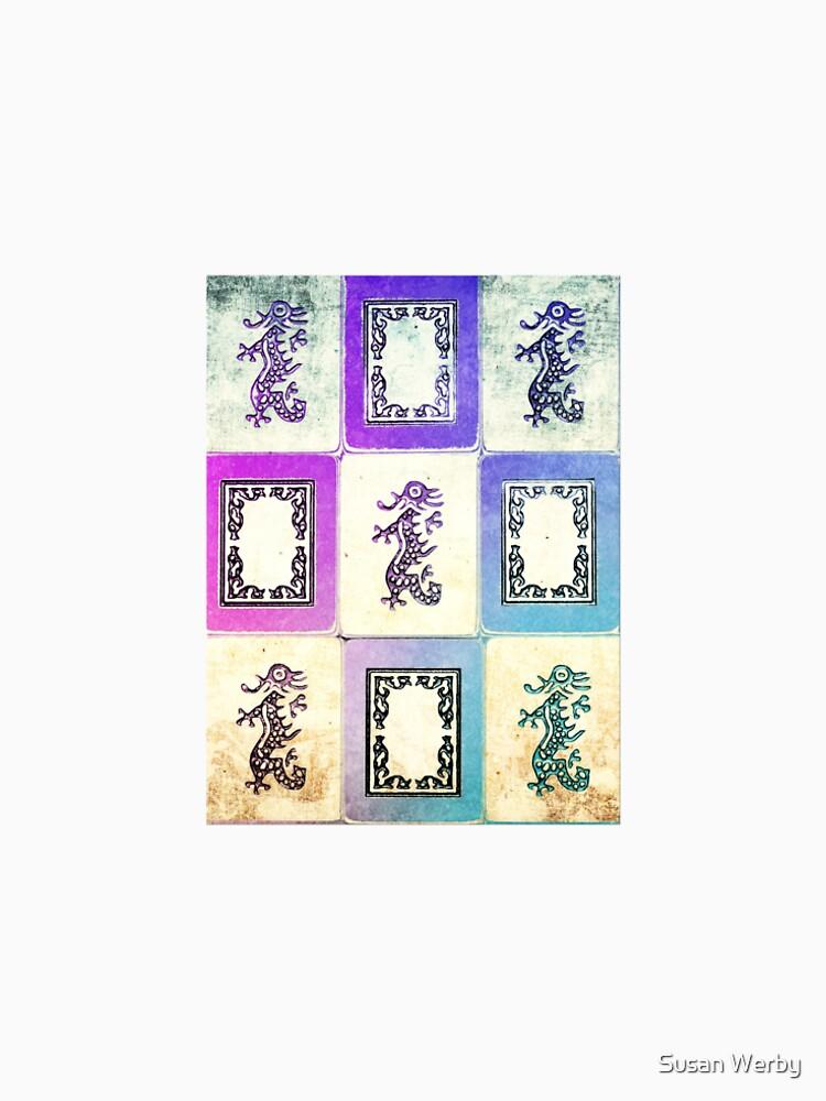 """Dragon Lady"" Mah Jongg - version two by G7Susan9Werby3"