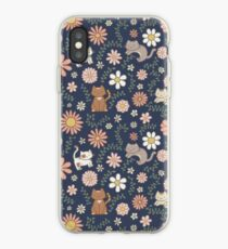 Flower Meower (Marine) iPhone-Hülle & Cover