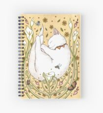 Butterflies and Bees Spiral Notebook