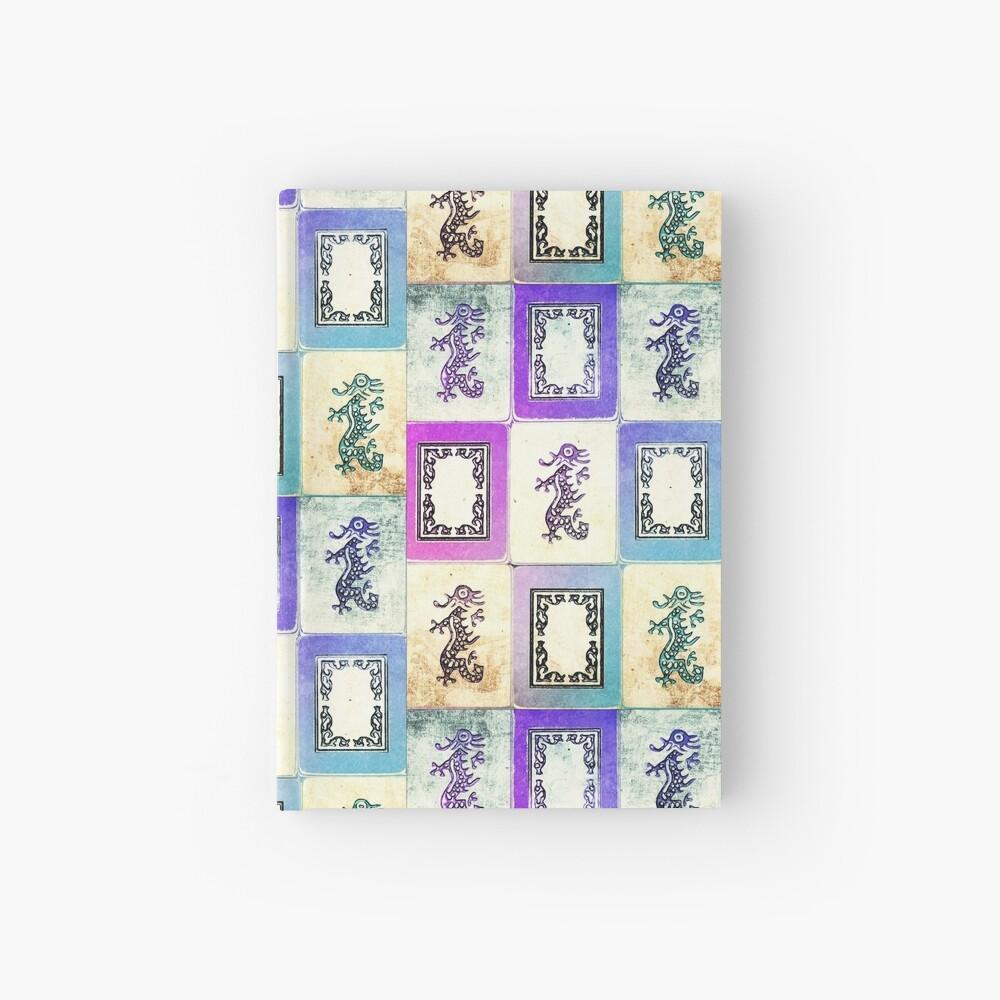 """Dragon Lady"" Mah Jongg - version two Hardcover Journal"
