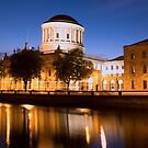 Four Courts Dublin at Dusk by Grahame Newell