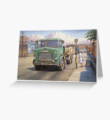 Leyland Octopus Tower Hill Transport Greeting Card