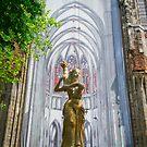 Cathedral in Utrecht, Holland by Richie Wessen