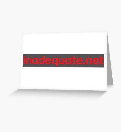 inadequate.net | an examination of free will | William O. Pate II Greeting Card