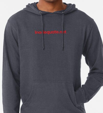 inadequate.net | an examination of free will | William O. Pate II Lightweight Hoodie
