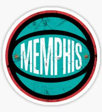 Memphis Retro Ball - White Sticker