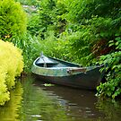 Green Boat in Holland by Richie Wessen