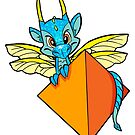 D04 Dragon Sticker by UncaLar