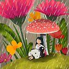 Shelter from the Sun Shower by Debi Hudson
