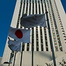 Intercontinental Hotel Tokyo - Flags by Richie Wessen