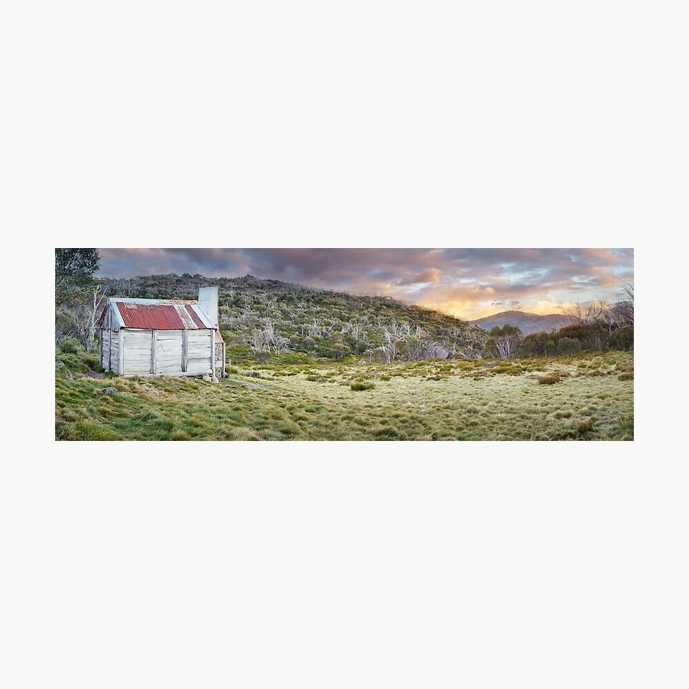 Teddys Hut, Kosciuszko National Park, New South Wales, Australia Photographic Print