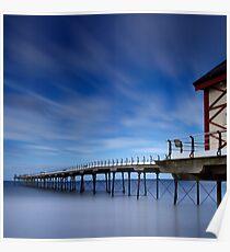 Saltburn Pier  Poster