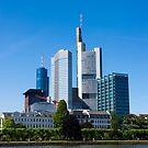 Frankfurt Germany - Mini Skyline by Richie Wessen