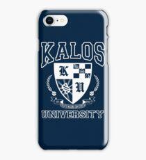 Kalos University iPhone Case/Skin