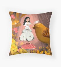 Honouring the Birds Throw Pillow