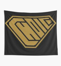Choice SuperEmpowered (Gold) Wall Tapestry