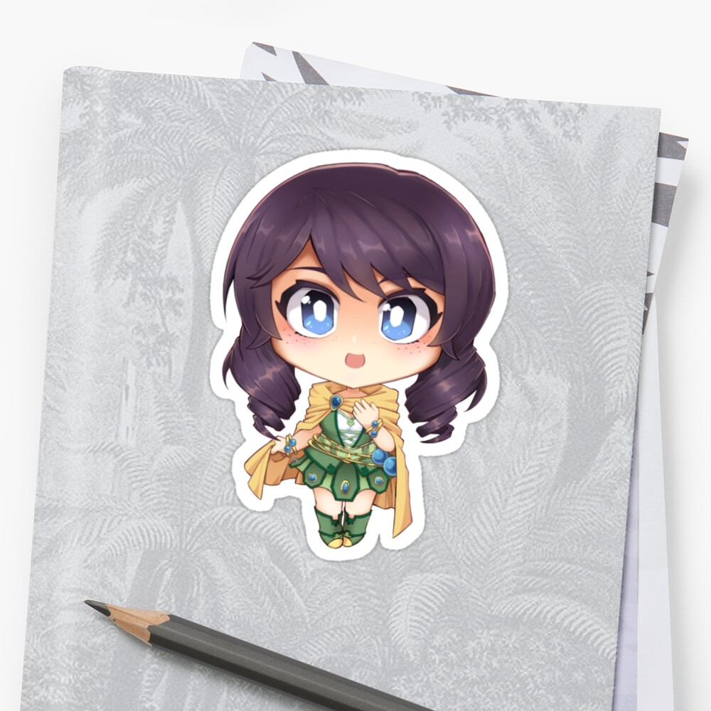Avanna (non-elf version) Sticker
