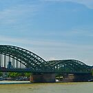 Panoramic View of Cologne Germany by Richie Wessen