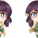 2-pc Avanna Sticker Set by Chorvaqueen