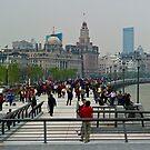 The Bund - Shanghai China by Richie Wessen