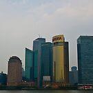 Shanghai Skyline by Richie Wessen