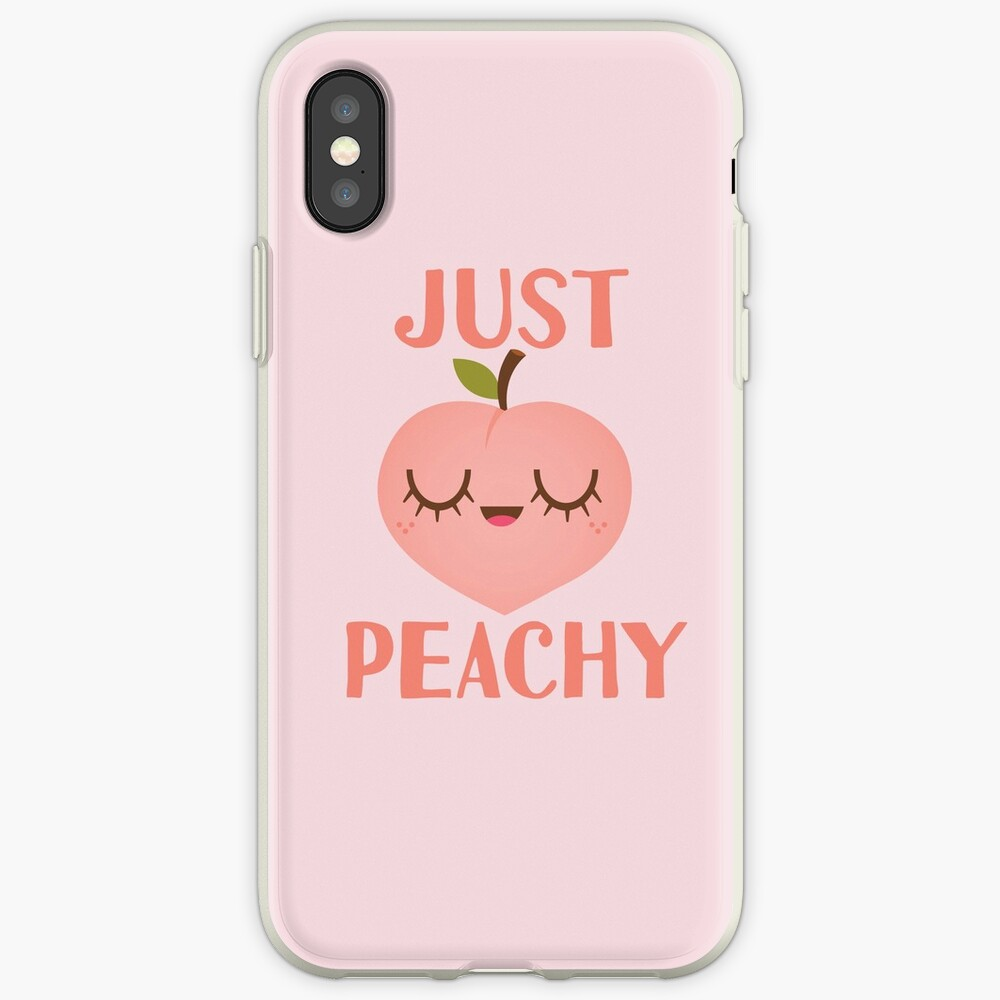 Just Peachy iPhone Cases & Covers