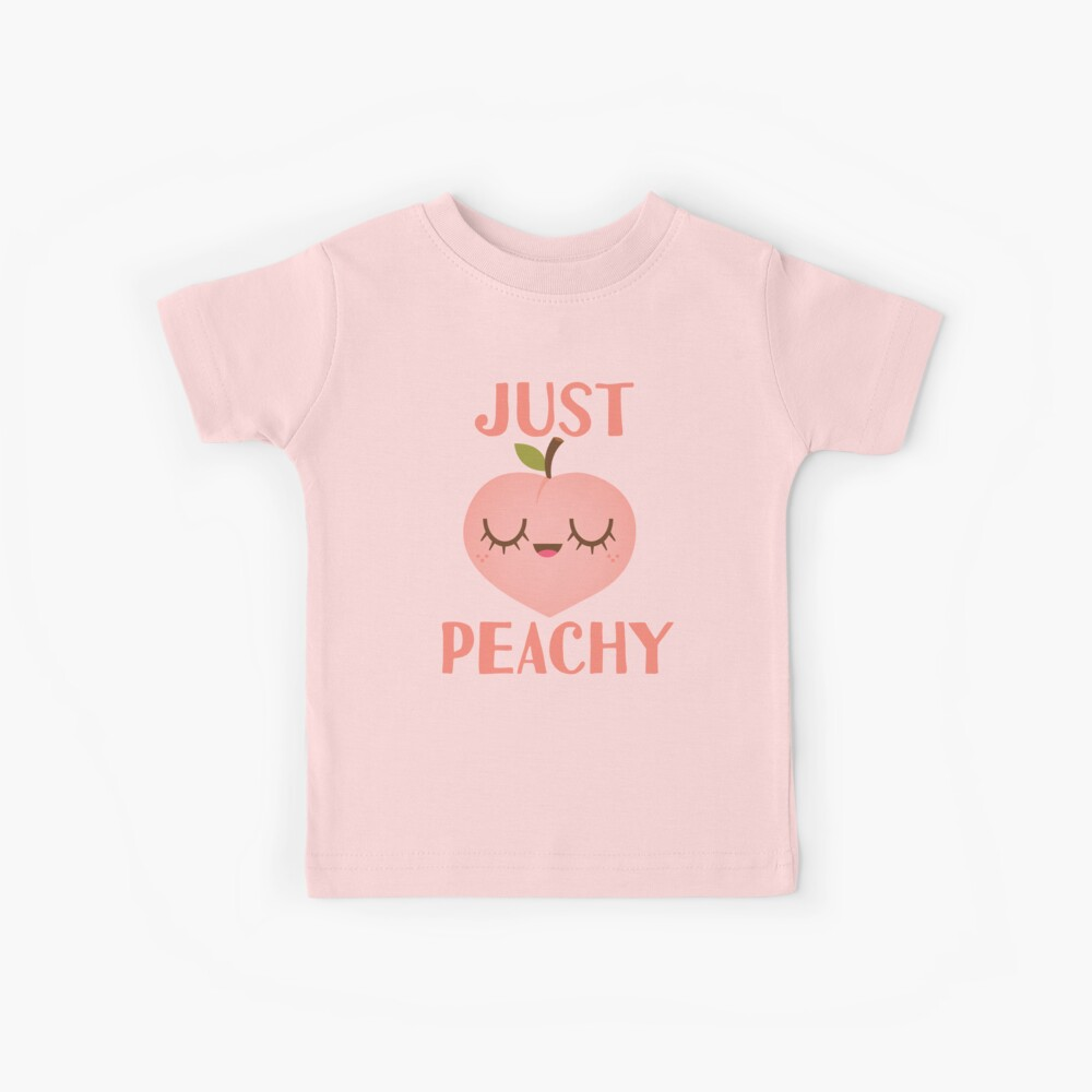 Just Peachy Kids T-Shirt