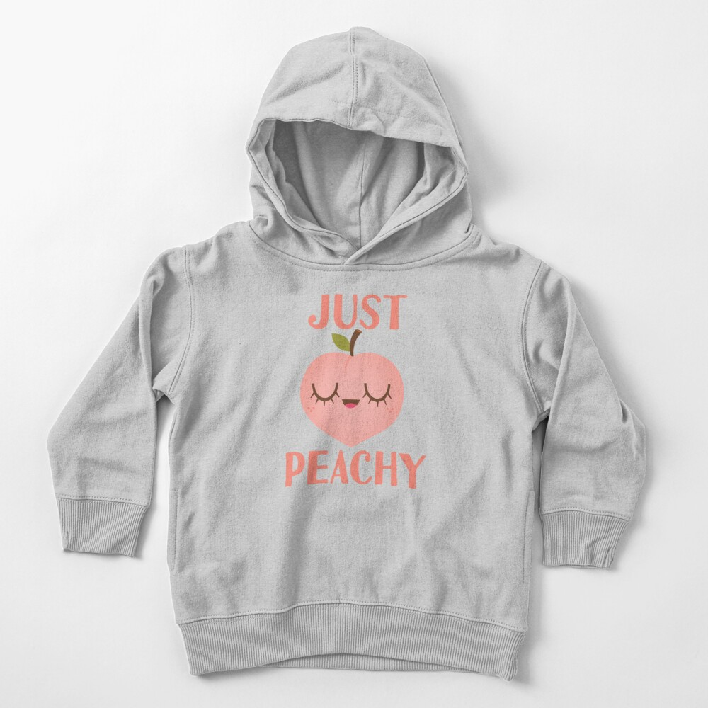 Just Peachy Toddler Pullover Hoodie