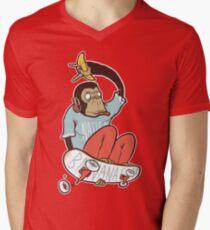 banana grab Men's V-Neck T-Shirt