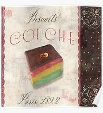 Patisserie Rainbow Layer Cookie Poster