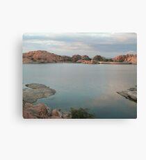 Willow Lake Dam Canvas Print