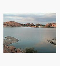 Willow Lake Dam Photographic Print