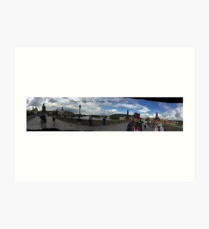 Charles Bridge. © Adela Jopek Art Print