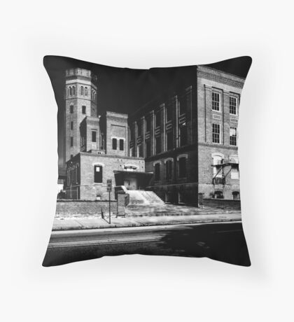 Smith Davis Cigar Factory Throw Pillow