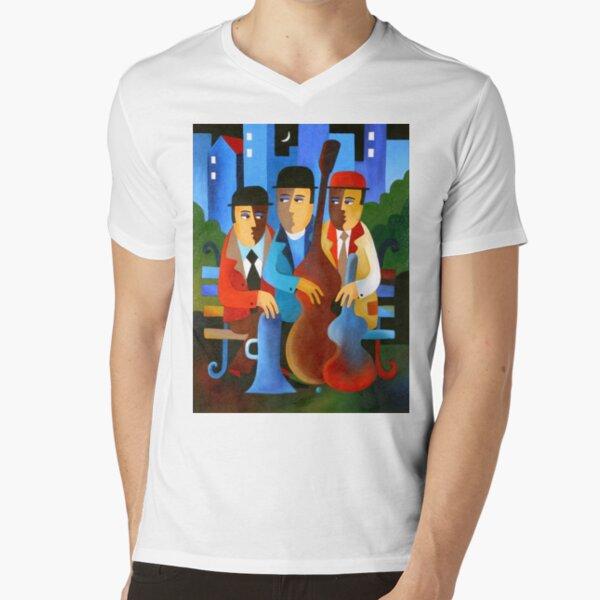 WAITING FOR LESTER V-Neck T-Shirt