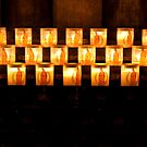 Candles, Notre Dame de Paris by Skye Hohmann
