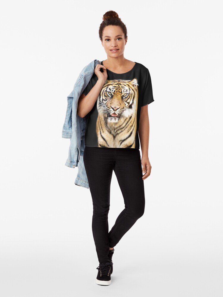 Alternative Ansicht von Tiger Chiffon Top