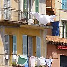 Wash day French village  by mikequigley