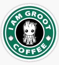 Baby Guardian Coffee Sticker