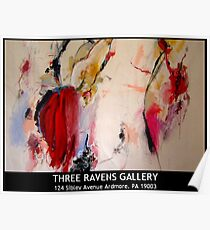 Three Ravens Gallery - Grand Opening - November, 27th 2009 Poster