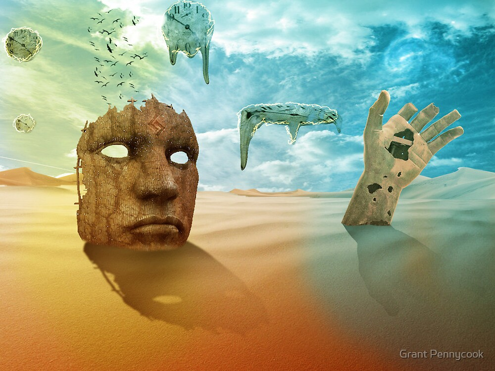 Sureal desert by Grant Pennycook